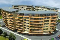 Projekt  bytového komplexu