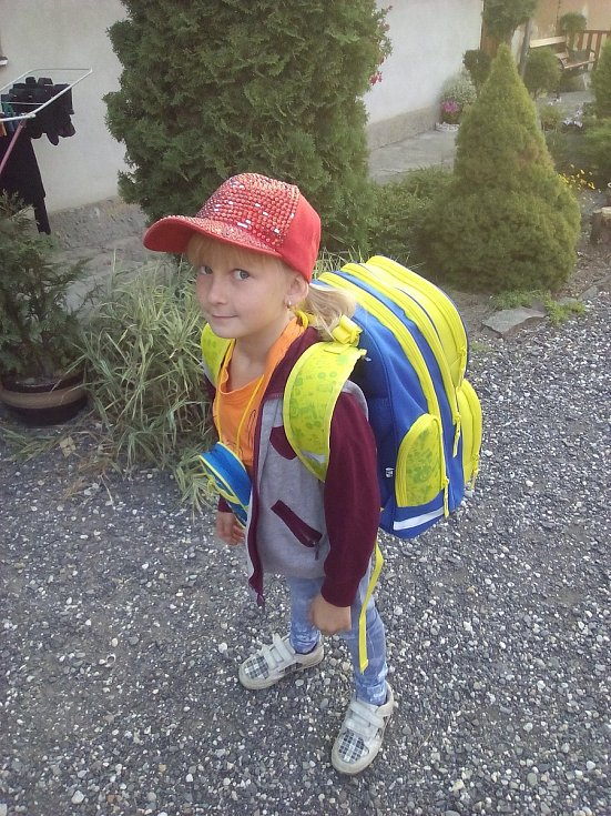 Laura Beková, 7 let, Chvalikovice, ZŠ Raduň