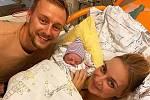 Markéta Konvičková v úterý ráno oznámila na instagramu narození dcery.