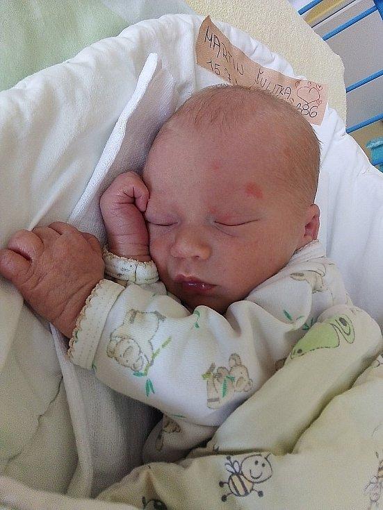Martin Šulitka, Bruntál, narozen 15. července 2021 v Krnově, míra 46 cm, váha 2640 g. Foto: Pavla Hrabovská