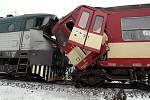 Podívejte se na místo nehody v Paskově, kde se srazily dva osobní vlaky