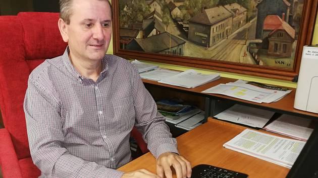 Místostarosta obvodu Ostrava-Jih František Dehner.
