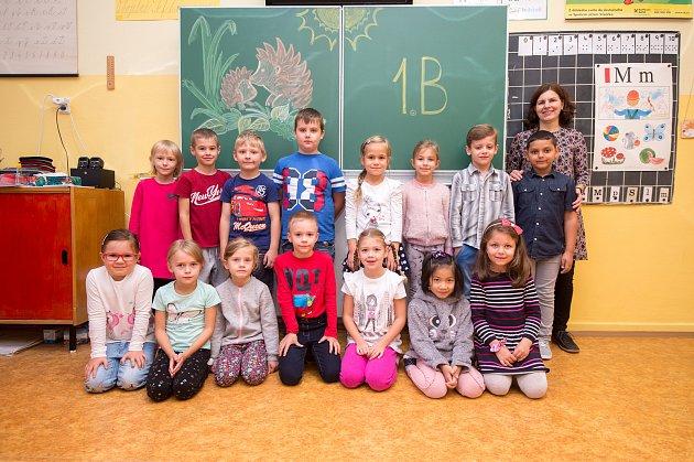 Základní škola a mateřská škola Ostrava-Hrabůvka, Krestova 36A, září 2019vOstravě. Na snímku třída I.B.