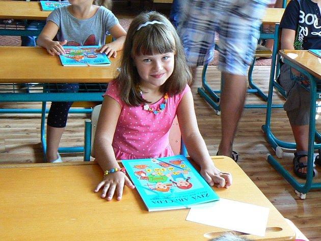 Adélka Padyšáková, 7 let, Orlová-Lutyně, ZŠ Orlová-Lutyně