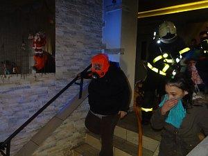 Požár ubytovny v Ostravě-Zábřehu