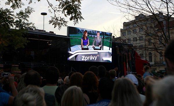Roadshow televize Prima vOstravě.
