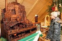 V galerii Slezskoostravského hradu opět po roce začala bohatá přehlídka nejrůznějších betlémů.