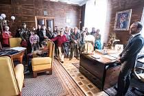 Den otevřených dveří na ostravské radnici.