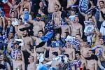 Utkání 27. kola první fotbalové ligy: FC Baník Ostrava - FK Teplice, 7. dubna 2019 v Ostravě. Na snímku fanoušci Baníku.