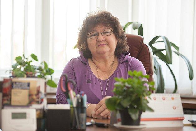 Ředitelka Lidové konzervatoře a Múzické školy v Ostravě Miloslava Soukupová.