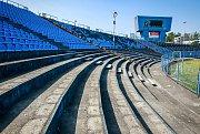 Chátrající stadion Bazaly se promění v moderní tréninkové centrum pro fotbalovou mládež.