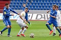 Utkání 25. kola druhé fotbalové ligy (Fortuna národní liga - FNL): MFK Vítkovice vs. FK Ústí nad Labem, 29. dubna v Ostravě.
