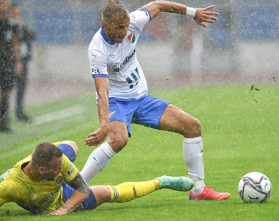 Utkání 2. kola první fotbalové ligy: Baník Ostrava - Fastav Zlín, 1. srpna 2021 v Ostravě. Nemanja Kuzmanović z Ostravy.