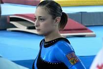 Sportovní gymnastka Veronika Ožanová