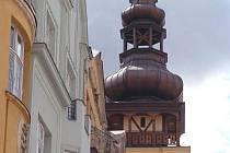 Věž staré ostravské radnice, v níž sídlí Ostravské Muzeum