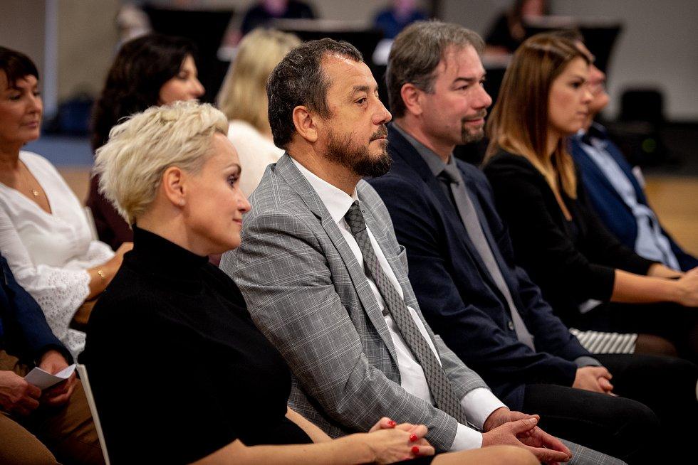Setkání s hejtmanem moravskoslezského kraje Ivo Vondrákem - akce Deníku, kterou uspořádal 30. října 2019 v Multifunkční aule Gong v Dolních Vítkovicích.