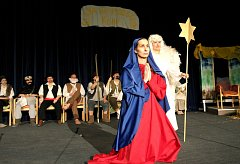 Vánoční hr pojednávající o Ježíšově narození.