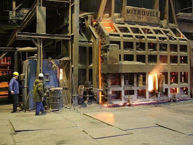 Společnost Evraz Vítkovice Steel se zaměřuje na výrobu oceli a ocelových výrobků.