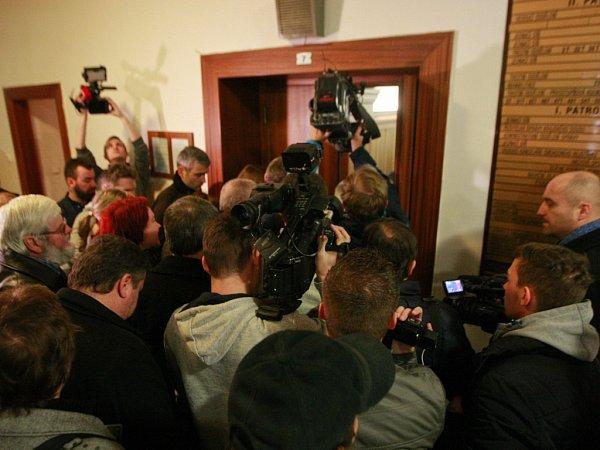 Závěrečný den jednání Krajského soudu vOstravě svyhlášením rozsudku nad Petrem Kramným,