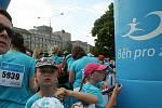 Podpořit ty, kdo v životě neměli tolik štěstí a bojují s rakovinou. To byl hlavní cíl více než tisícovky lidí, kteří se v sobotu vydali z Prokešova náměstí na Běh pro život.