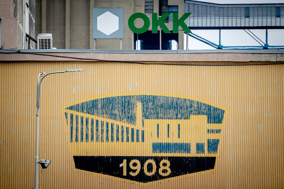 Firma OKK Koksovny, a. s., květen 2019 v Ostravě.