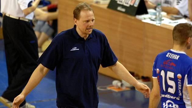 Trenér opavských volejbalistů Martin Demar