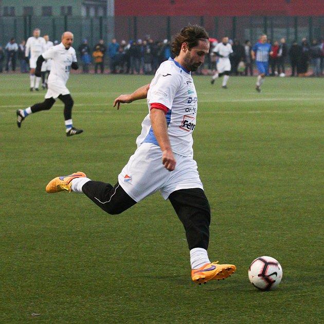 Fotbalové derby Starých gard Baníku a Vítkovic, 28.prosince 2018vOstravě.