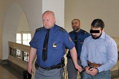 Soud poslal mladíka na třináct let za mříže.
