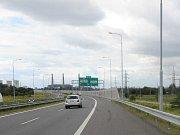 Rozestavěný dálniční přivaděč