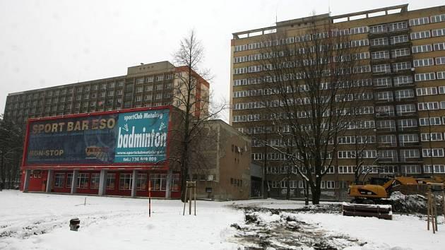 Ilustrační foto. Hotelový dům dům Metalurg, leden 2013.