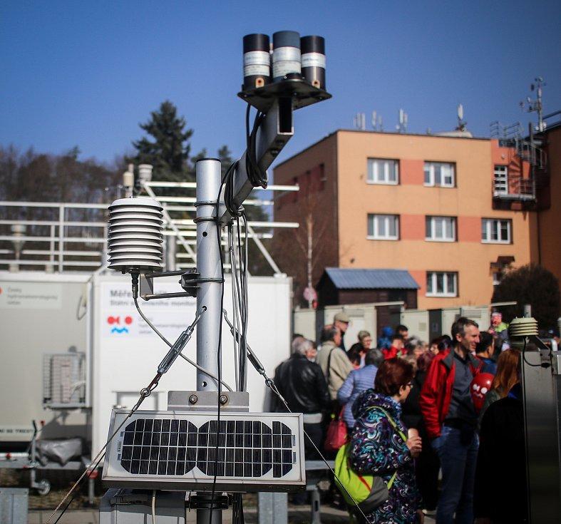 Den otevřených dveří v Ostravské pobočce Českého hydrometeorologického ústavu (ČHMÚ), 23. března v Ostravě-Porubě.