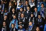 Utkání 21. kola první fotbalové ligy: FC Baník Ostrava - Slovan Liberec, 16. února 2019 v Ostravě. Na snímku diváci.