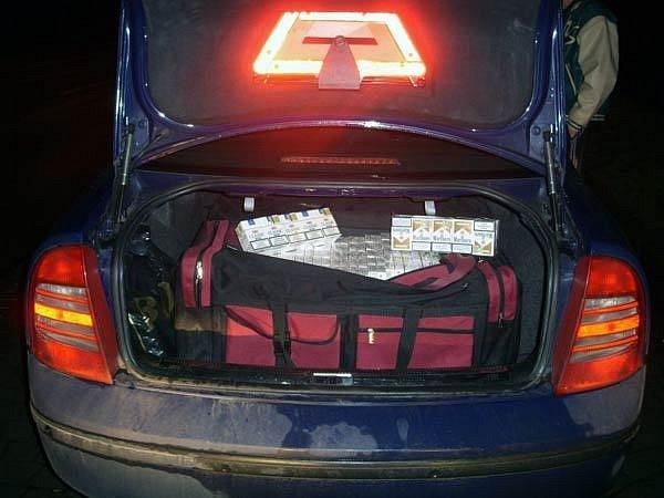 Neokolkované cigarety, které zadrželi ostravští policisté. Ilustrační foto