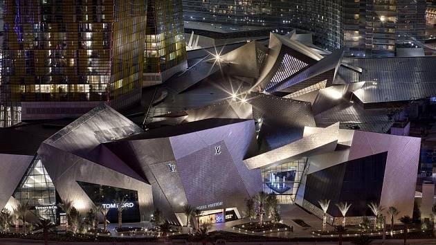 Ukázka architektury v projektu Daniela Libeskinda pro Las Vegas.