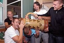 Členové Kubina teamu navštívili nošovický pivovar