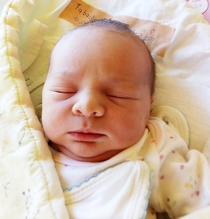 Magdaléna Tabachová, Krnov, narozena 10. května 2021 v Krnově, míra 48 cm, váha 3190 g. Foto: Pavla Hrabovská
