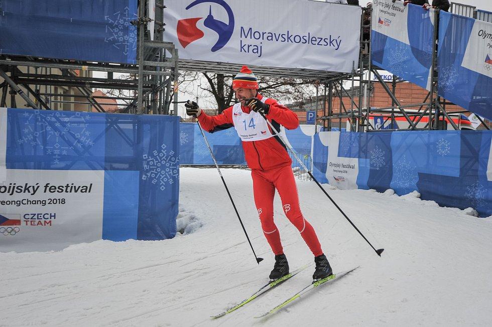 Olympijský festival u Ostravar Arény, 18. února 2018 v Ostravě.