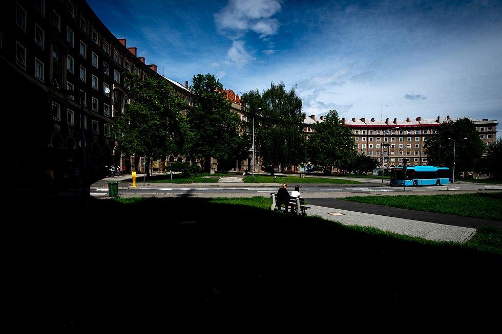 Oblouk v ostravské městské části Poruba. Ilustrační foto.