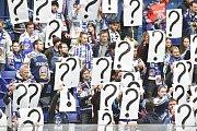 26. kolo hokejové extraligy: HC Vítkovice Ridera - HC Litvínov, 9. prosince 2018 v Ostravě. Na snímku fanoušci Vítkovic.