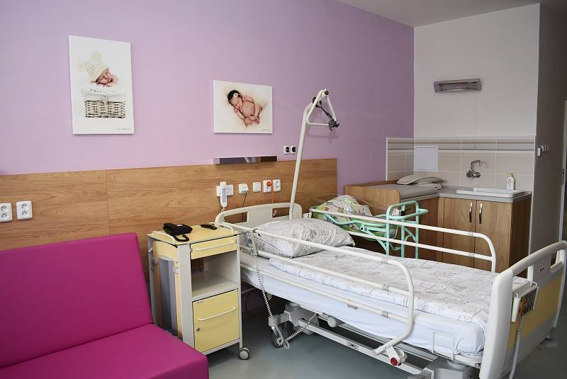 Nové rodinné pokoje v porodnici MNO.