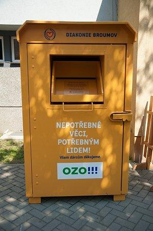 Nepotřebný textil potřebným  v Ostravě přibude dalších sedm ... 772bcde85a