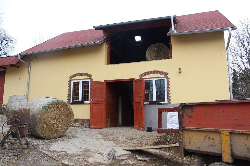 Ranč Duhová víla v Ostravě-Plesné zpřístupnili manželé Holušovi dětem - pořádají tam kroužky, hipoterapii i příměstské tábory.