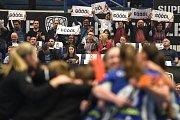 Takto se fandí v Ostravě! Superfinále florbaluv Ostravar Aréně, neděle 14. dubna 2019.