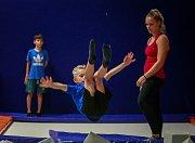 Bývalá Kolbenka, dnes trampolínové centrum Enha Freestyle v Ostravě-Kunčicích