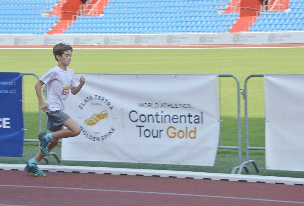 Běh na 300m chlapců Josef Zajíc