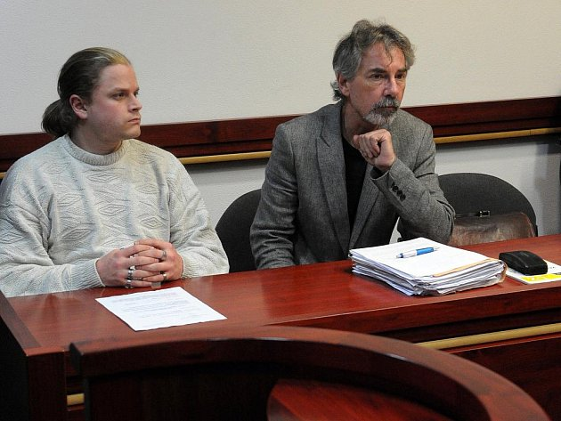 Patrik Kohut s právním zástupcem Ivo Jahelkou.