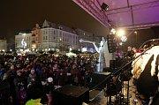 Česko zpívá koledy v Ostravě, Masarykovo náměstí.