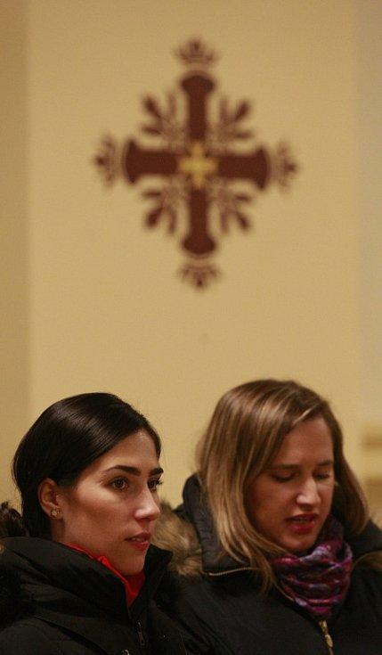 Dětská mše se uskutečnila na Štědrý den v ostravské katedrále Božského Spasitele.