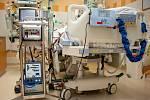 ECMO přístroj ve Fakultní nemocnici Ostrava. Takových je tam už deset.