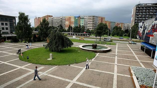 Na tomto prostranství mohlo vzniknout po úpravách nové centrum obvodu.